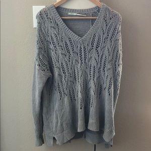 Kimchi Blue V-Neck Knit Sweater